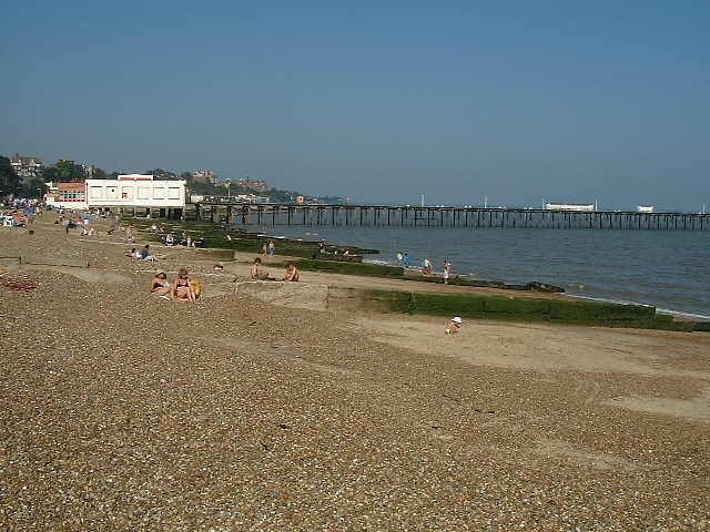 Beach at Felixstowe