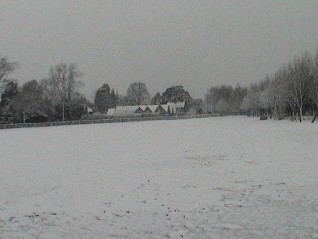 Ardingly School in the snow
