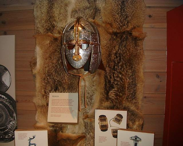 Replica of the famous burial mask