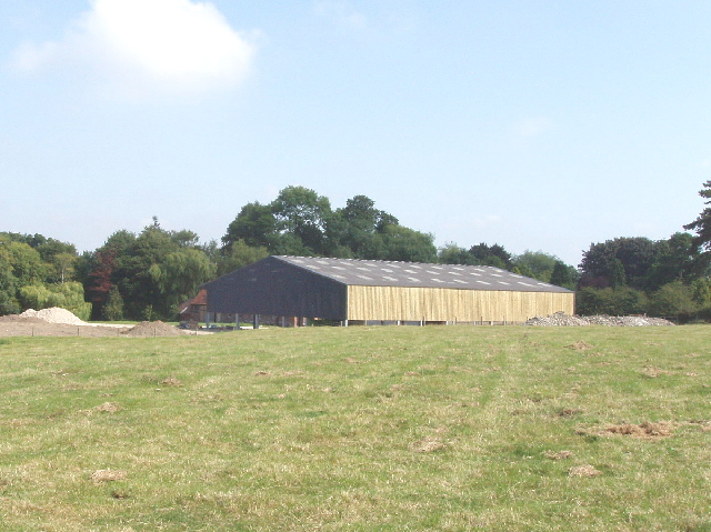 New barn at Manor Farm, Chalford