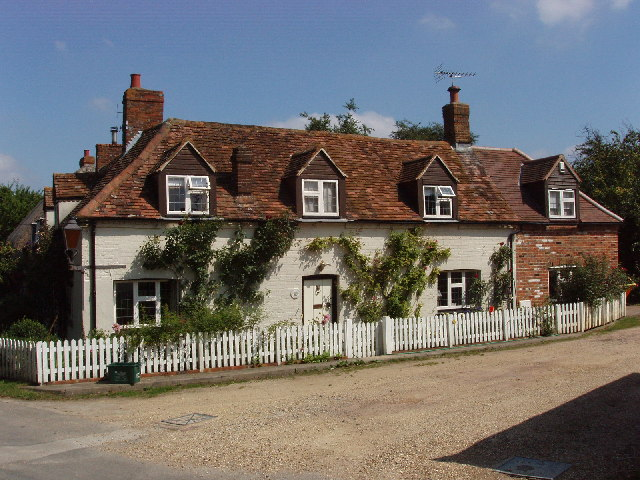 Cottages in Postcombe village