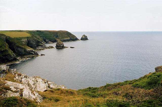 Forrabury and Minster: south west from Boscastle