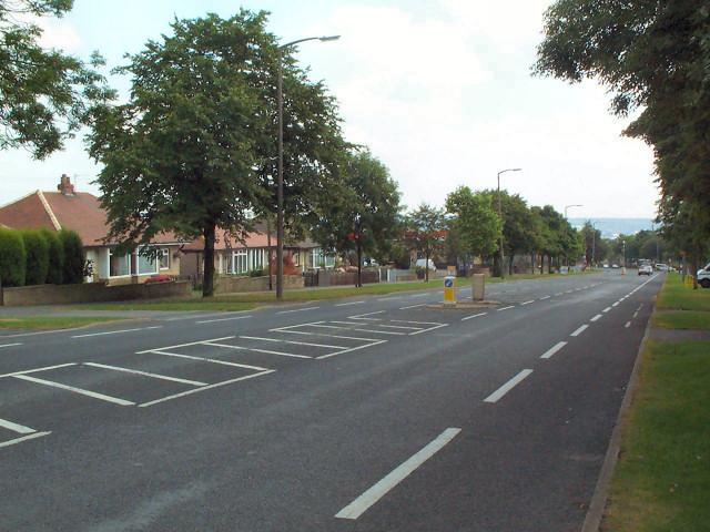 Thornton Road at School Green