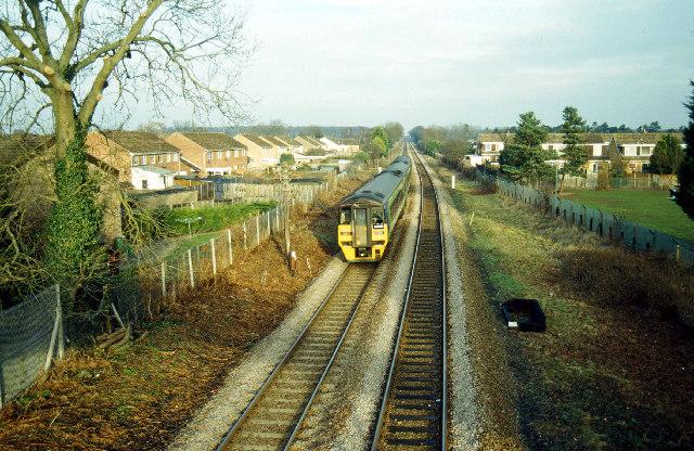 Railway east of Thetford