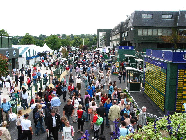 Main Concourse Wimbledon Championship Fortnight