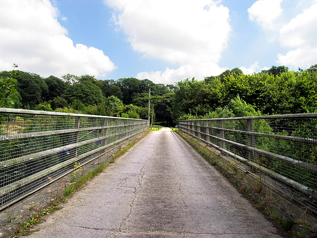 Bridge over A339 and High Wood