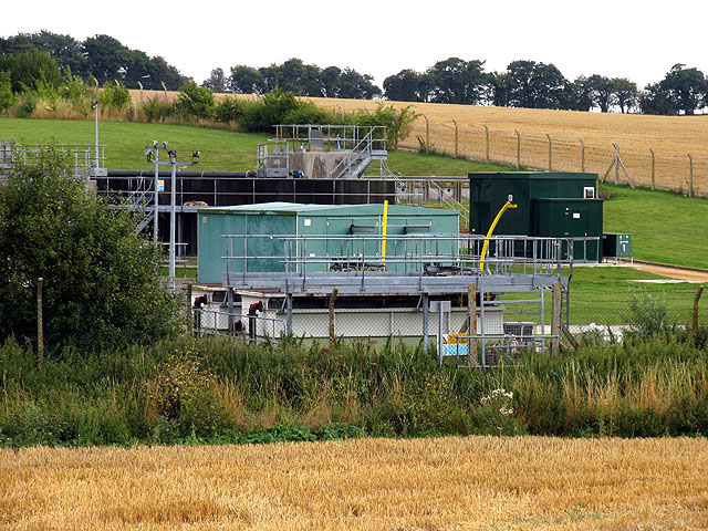 Sewage Works near Chieveley