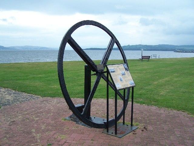 Flywheel from P.S. Comet