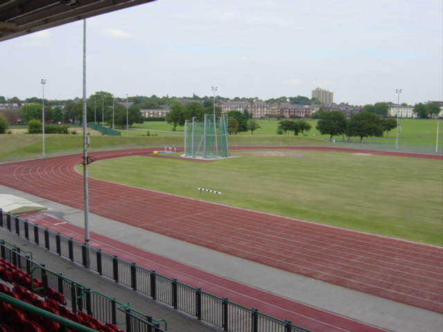 Athletics track, Wavertree Playground