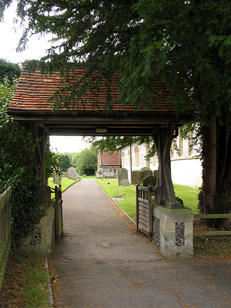 Lych Gate: Church at Chieveley