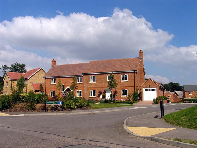 Modern Housing Estate in Chieveley