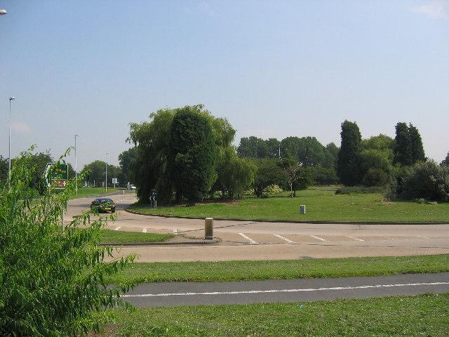 Sutton Road roundabout