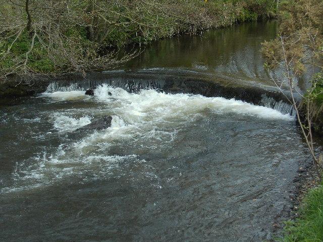 Weir on the River Neb