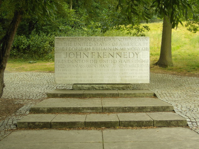 John  F. Kennedy Memorial at Runnymede