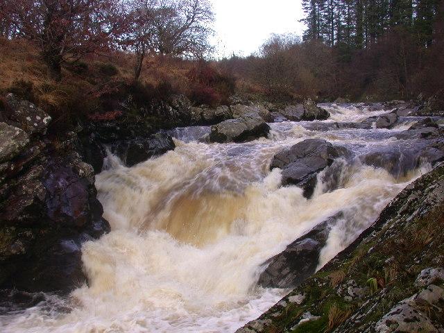 The Falls of Minnoch