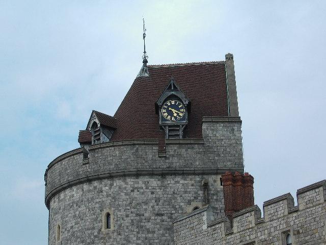 Windsor Castle Clock