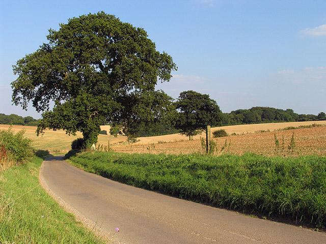 Farmland Outside Brightwalton