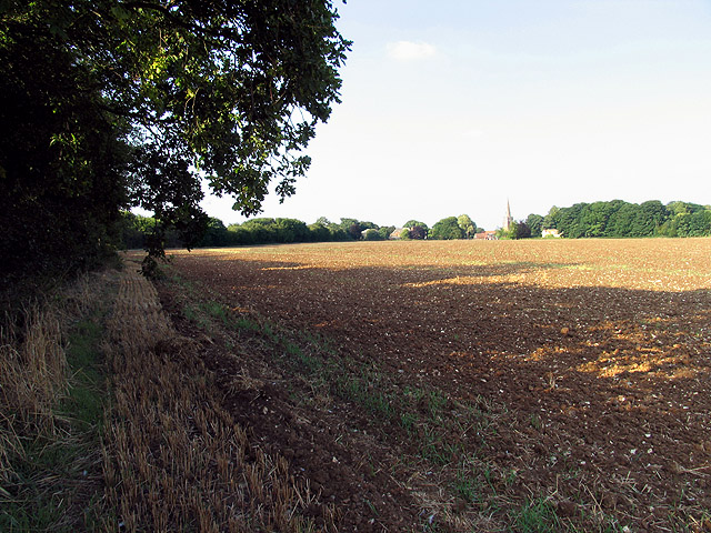 Farmland near Peasemore