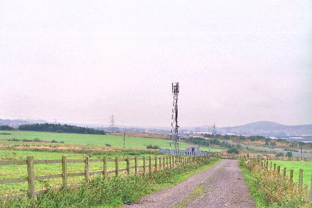 View from low hill 1 Km S of Rishton
