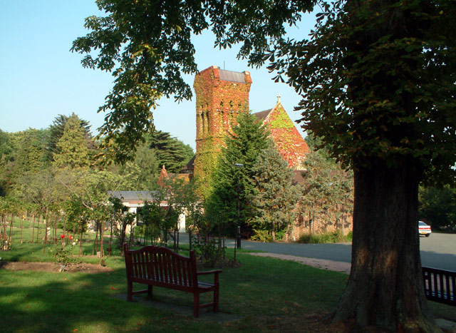 Beckenham Crematorium & Cemetery - the chapel