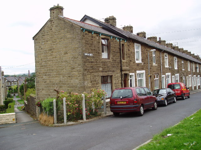Terrace housing, Frederick Street, Barnoldswick, Yorkshire
