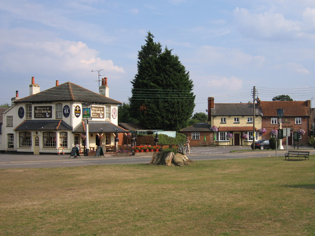 Two pubs at Shinfield