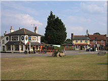 SU7367 : Two pubs at Shinfield by C D Uglow