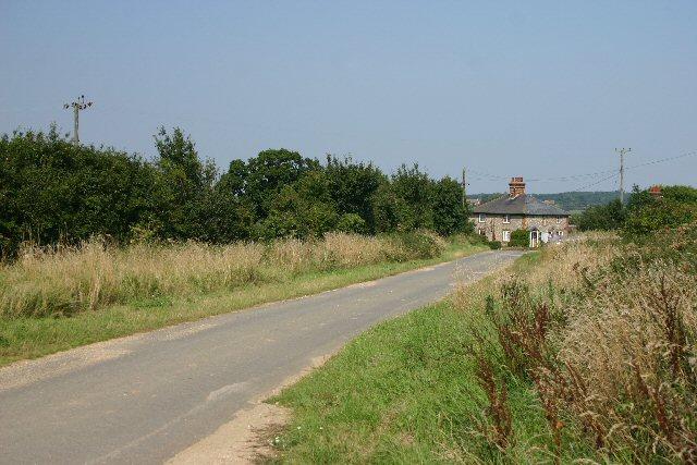 Near Desning Hall in Suffolk