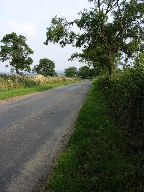 Country road near Ragdale