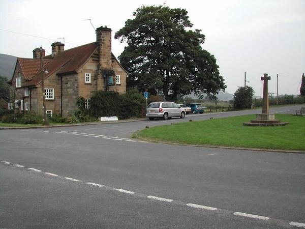 Ingleby Cross and the Bluebell Inn