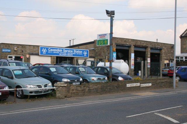 Cavendish Service Station, Catherine Slack