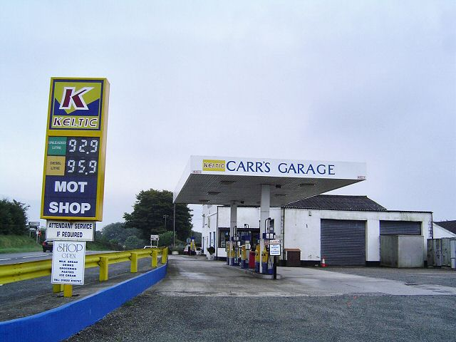 Garage at Collacombe Down
