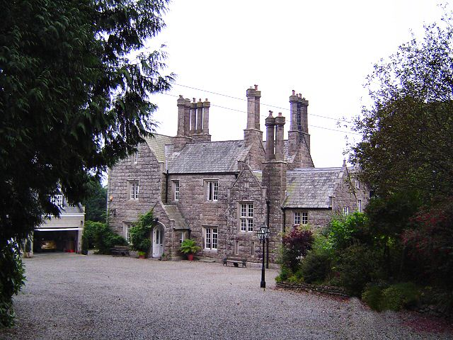 Vicarage at Milton Abbot