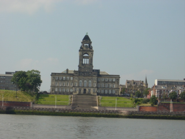 Wallasey Town Hall from the river