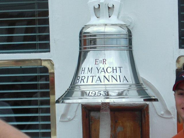 Ship's Bell, H.M. Yacht Britannia