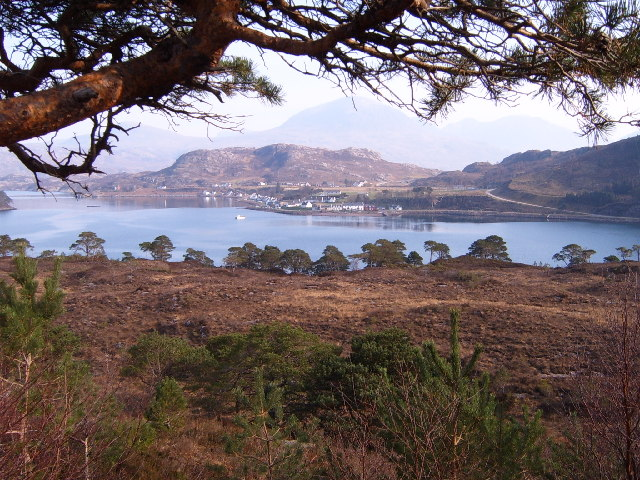 Shieldaig from the Applecross road