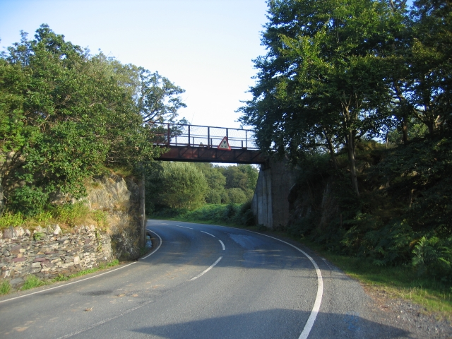 WHR Bridge near Nantmor