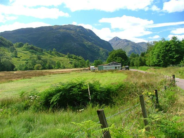 Looking South Down Glen Finnan