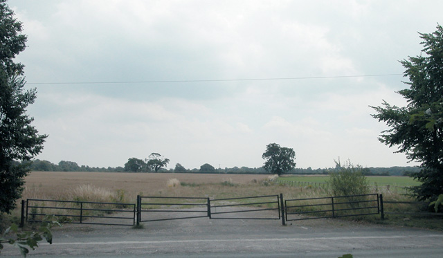 Wrexham Road farmland