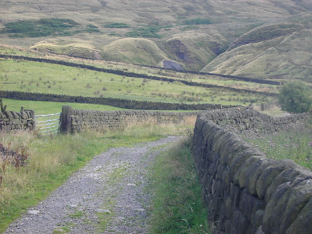 Towards the Long Causeway from Mankinholes