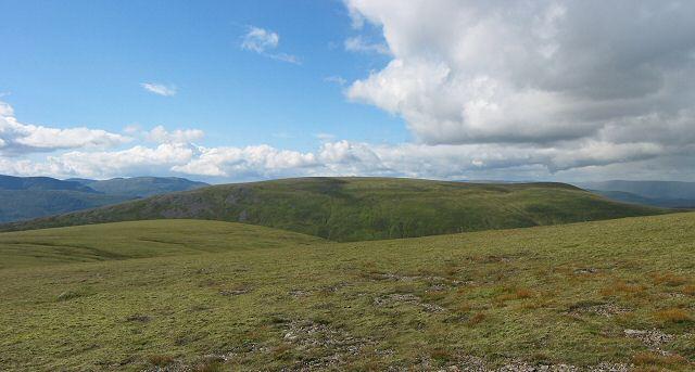 Near the top of Sgairneach Mhor