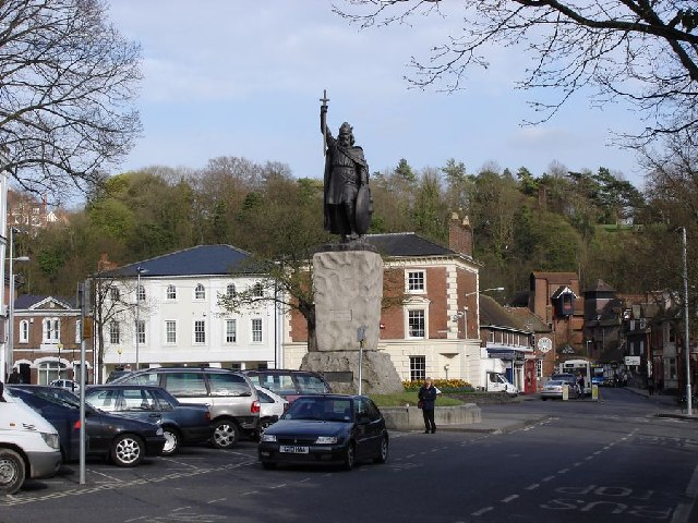 Statue of King Alfred, Winchester