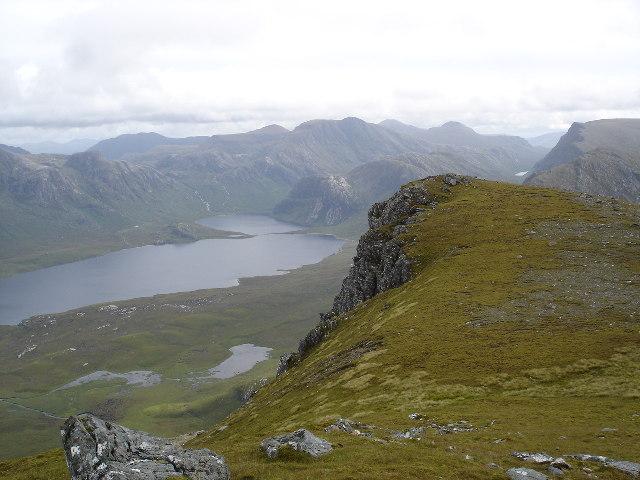 Summit view Beinn Airigh Char