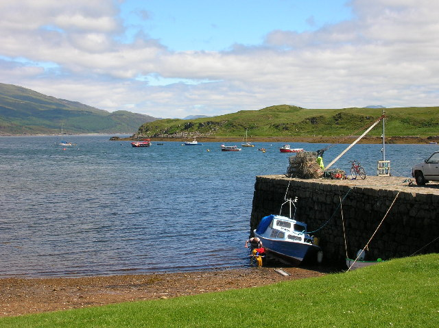 Harbour at Isle Ornsay