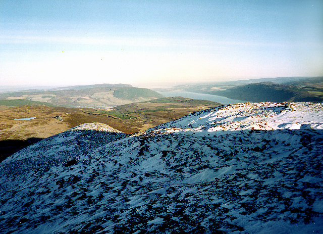 Loch Ness from Meall Fuar-mhonaidh