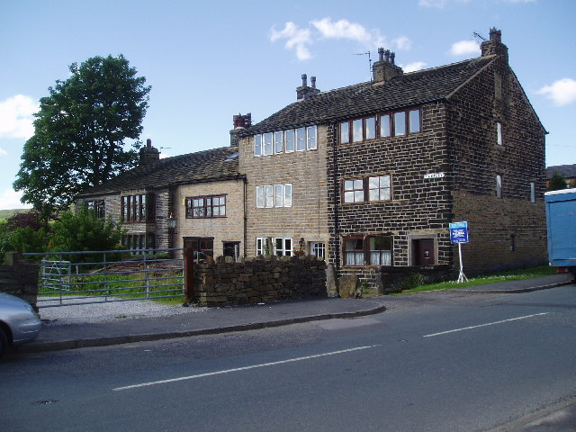 Weavers' cottages, Lawflat, Wardle, Lancashire
