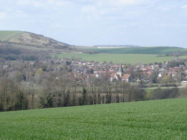View towards Alfriston