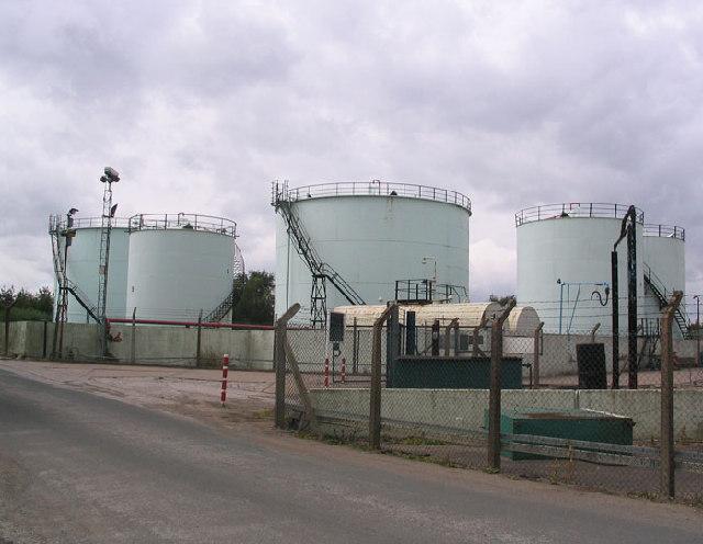 Gas Holders Bayford Thrust