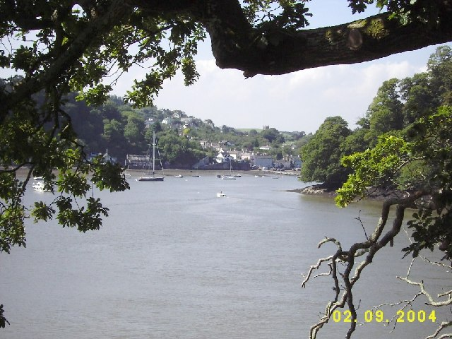 Dittisham from Greenway Boat House