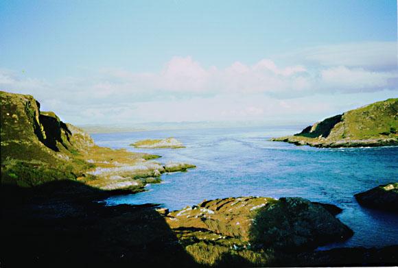 Bealach a' Choin Ghlais from Meall nan Caorach